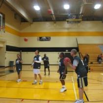 NOMA Basketball game