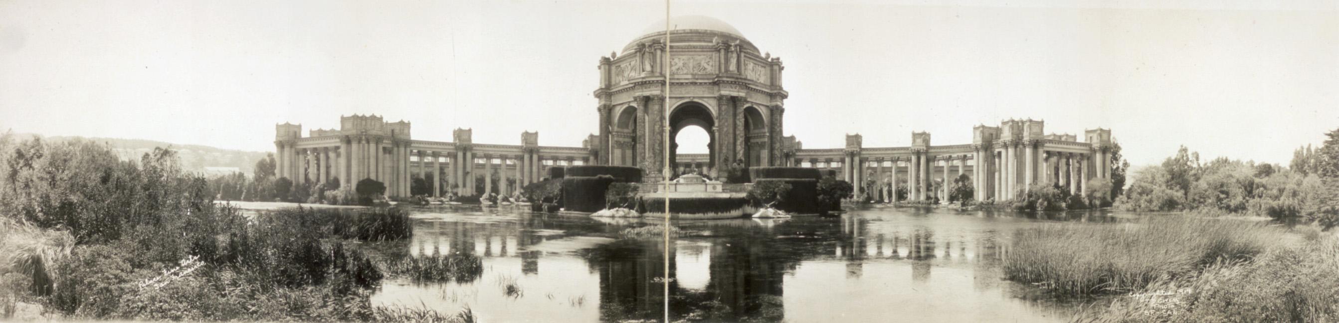 Palace Of Fine Arts 1919
