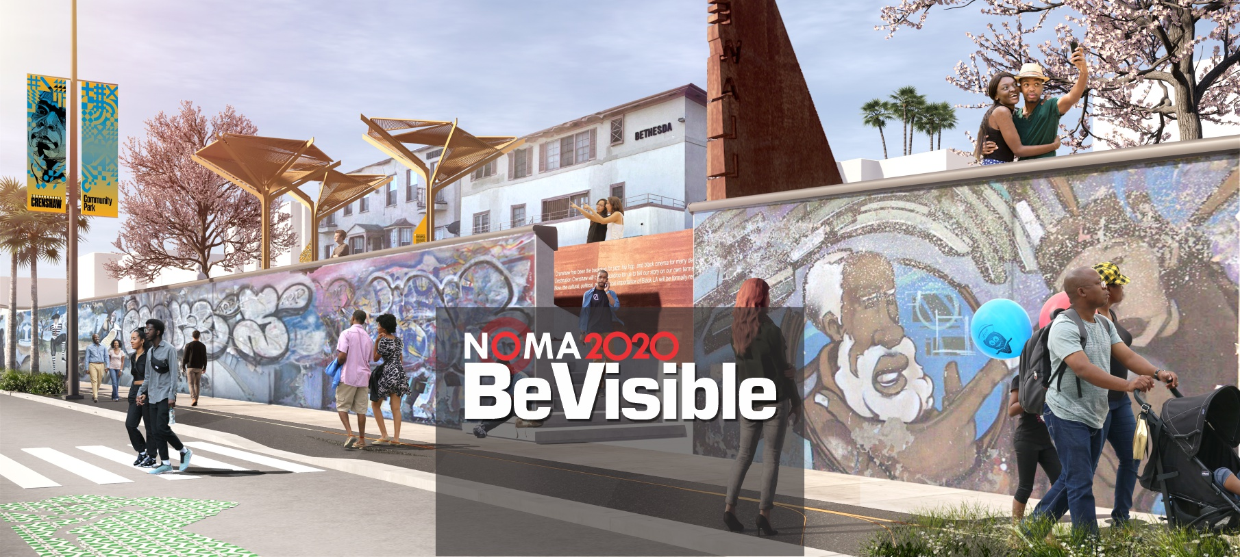 Bevisible With Backdrop01