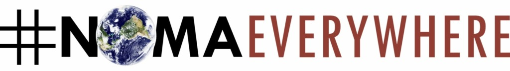 "logo for ""NOMA Everywhere"" the conference will be available for particpatio virtually"