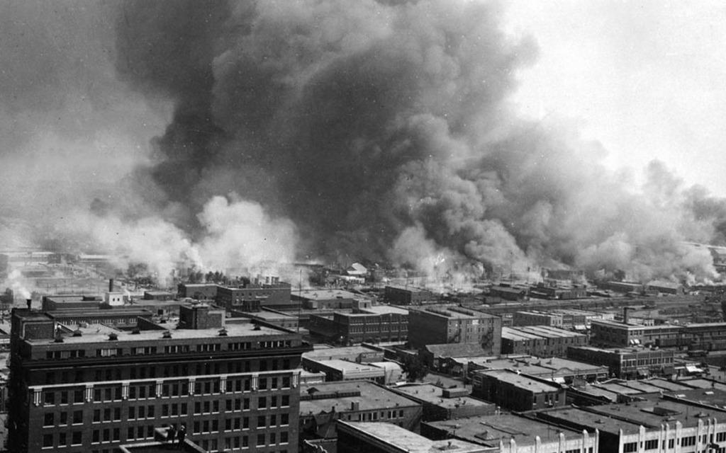 Image of Tulsa burning