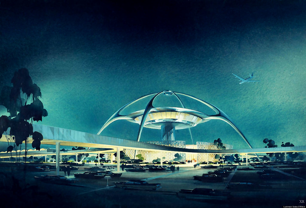 Artist Rendering of LAX Terminal